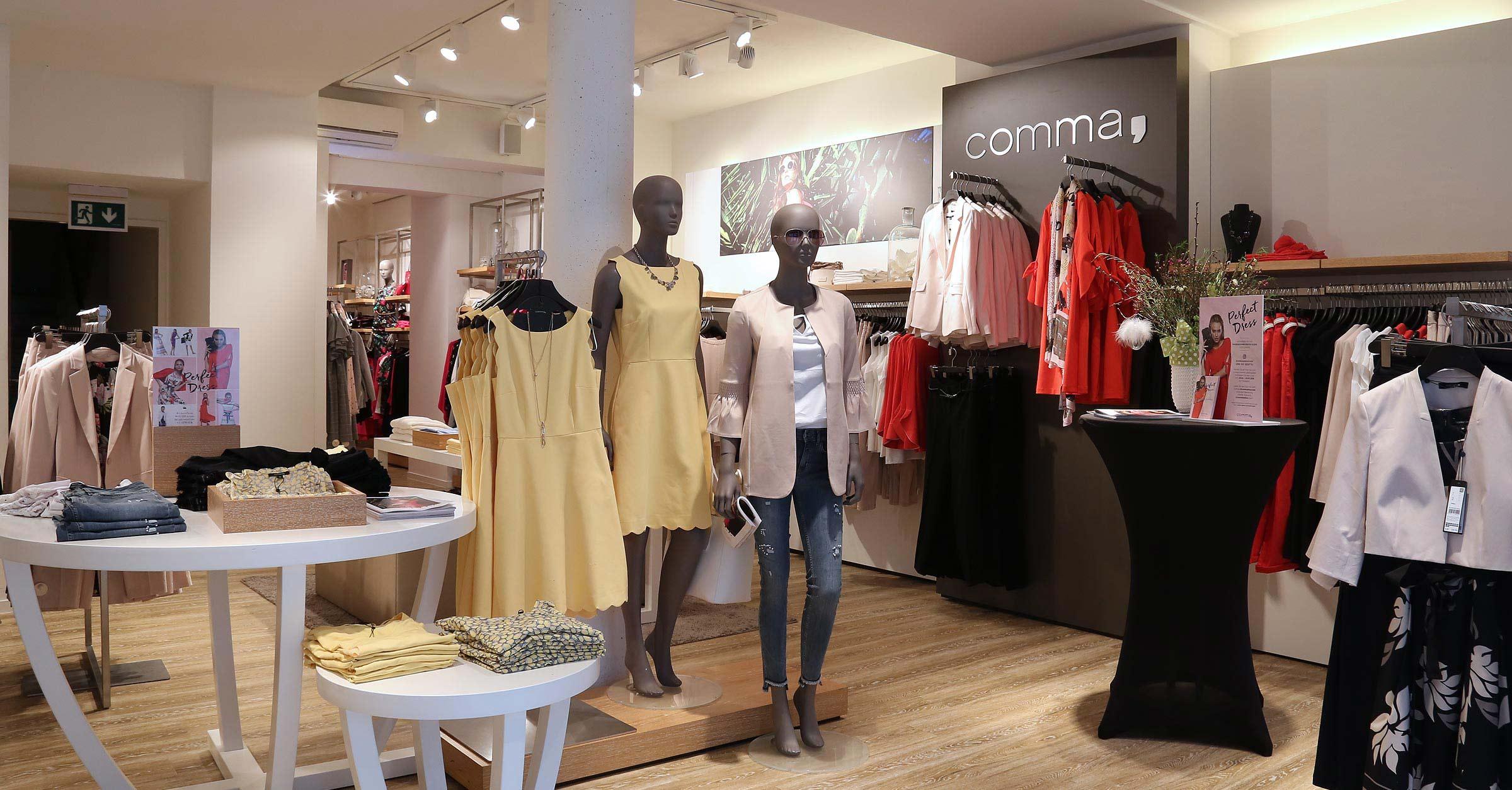 Comma Store Heilbronn - Abendmode
