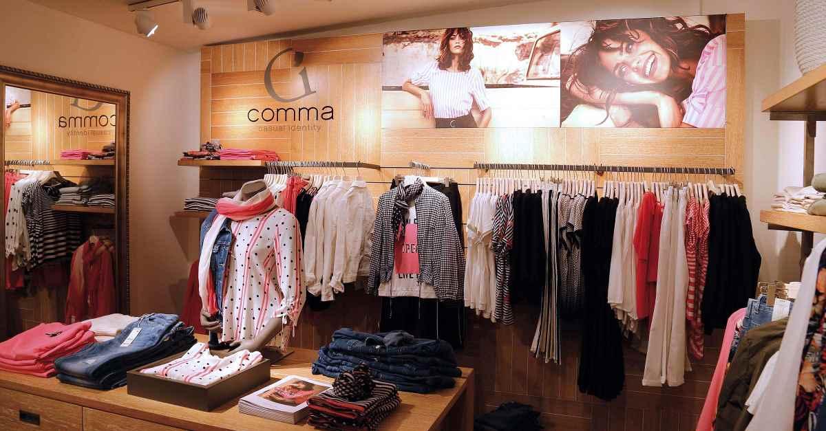 Comma Store Heilbronn - Casual Identity