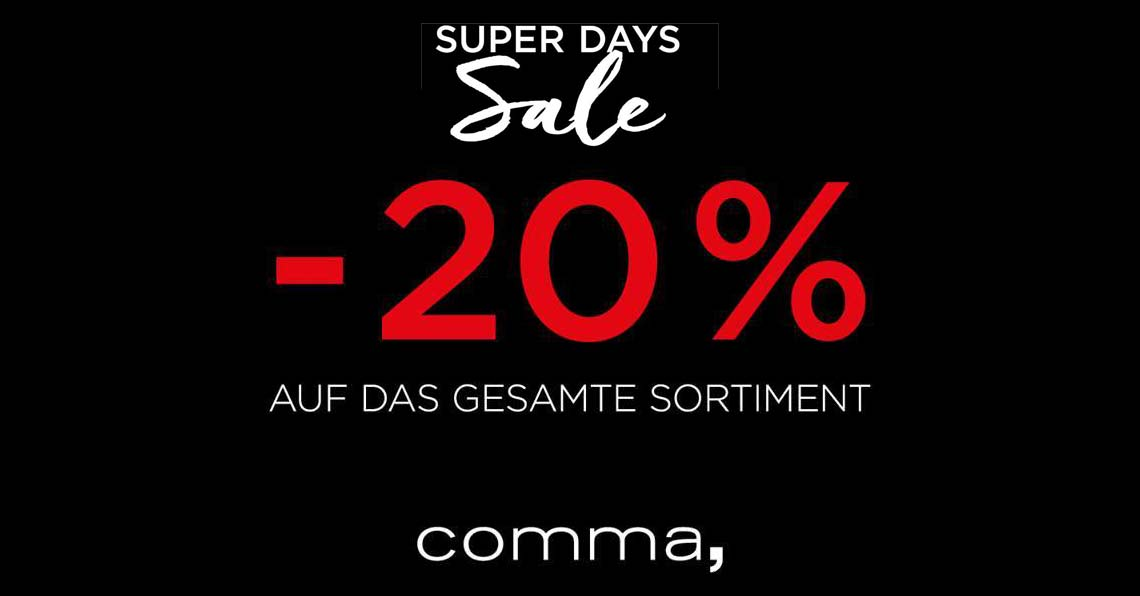 Haeffner Modepartner - Super Sales Day im Comma Store Heilbronn